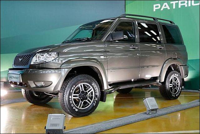 Новое отечественное авто - UAZ Patriot 2014
